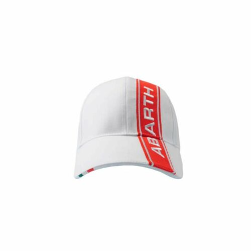 Abarth Fiat Abarth Motorsport Cap Kappe One Size Low Profile mit Metall Buckle