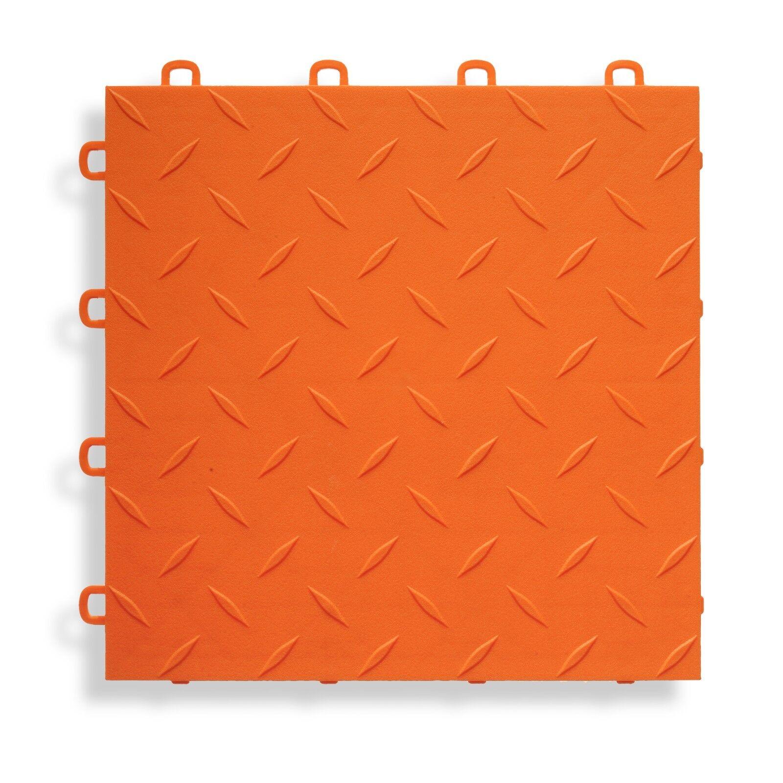 Garage Floor Paint Substitute Diamond Orange Usa Made Ebay
