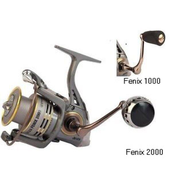 Grauvell Stationärrolle für das UL- Fischen Trout Area Jinza Fenix 1000 FD