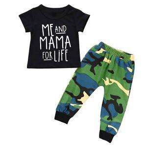 2pcs Toddler Kids Baby Boy T-shirt Tops+Shorts Pants Summer Outfits Clothing Set