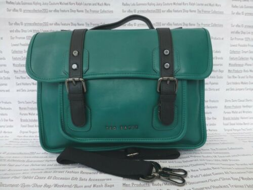 TED BAKER sacoche sac homme TEQUILA vert épaule Despatch Docu Sacs entièrement neuf sans étiquette R £ 129