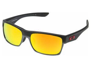 8d022199623 Oakley TwoFace Lin Dan Sunglasses OO9256-09 Matte Black Fire Iridium ...