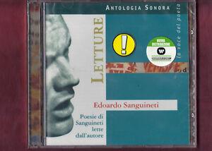 LETTURE-POESIE-EDOARDO-SANGUINETI-CD-NUOVO-SIGILLATO