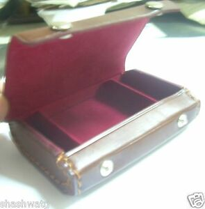 Yashica 635 TLR Camera's 35mm Film Adapter Kit's Brown Leather Case Just Bid **