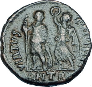 ARCADIUS-crowned-by-Victory-395AD-Antioch-Authentic-Ancient-Roman-Coin-i65933