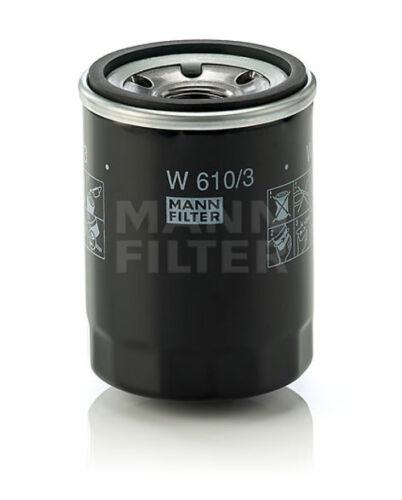 HR5 HR8A MANN-Oelfilter Oel-Filterpatrone W610//3 für Schaeff HR13 HR14