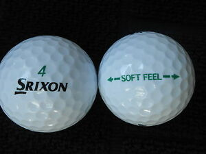 40-SRIXON-SOFT-FEEL-Golf-balls-034-PEARL-A-034-Grades