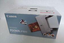 Canon Pixma iP1600 Compact Digital Photo Printer USB ChromaLife100 9989A001 NEW