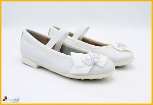 foto ufficiali in vendita all'ingrosso sito ufficiale Dettagli su Geox Scarpe da Bambina Ballerina eleganti Per Comunione  Cerimonia Elegante Bimba