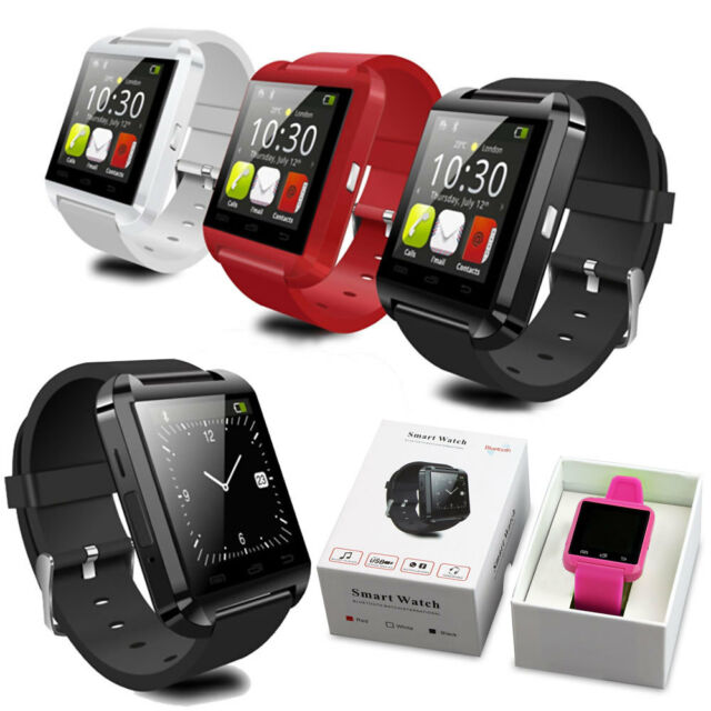 Bluetooth Smart Watch Wrist Watches Altimeter For Android iOS iPhone Smart Phone