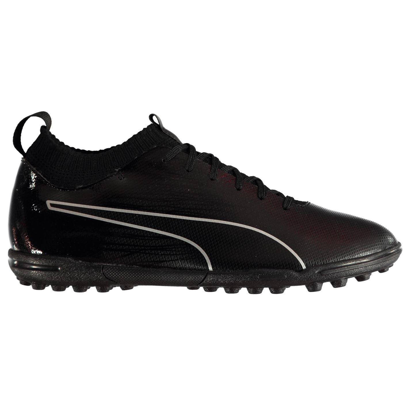 Puma evoknit Astro Turf Scarpe da ginnastica calcio Uomo Nero Scarpe da calcio scarpe da ginnastica