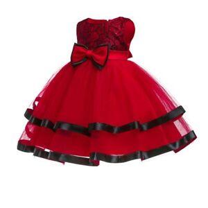 Party-formal-bridesmaid-princess-wedding-flower-baby-kid-dress-girl-dresses-tutu