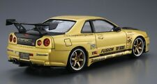Aoshima 05304 1/24 Top Secret BNR34 Skyline GT-R 2002 The Tuned Car No.15