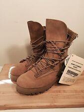 Sz 8 W Belleville Army Combat Boots(Temperate Weather) Tan Gor-tex Vibram