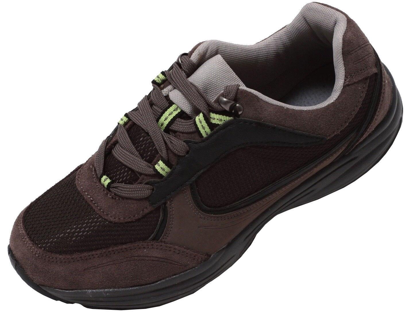 Herren Aktivschuhe Gr.42-44 Fitness Freizeit Schuhe Turnschuhe Sportschuhe braun  | Verschiedene Arten Und Die Styles
