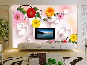 3D Gorgeous Flowers 79 Wallpaper Mural Paper Wall Print Wallpaper Murals UK