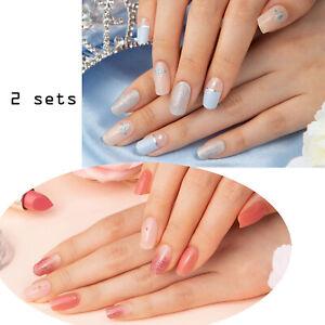Gelato-Factory-Sky-Edition-2-set-Sky-Dia-Peach-Sm-Acrylic-Nail-Full-Tip-MI-Korea