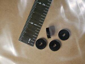 Modeste 4 Sorbothane Vibration Isolation Anneaux 1/2in Dia 1/8in Ht 1/8in Trou 12.7x3.2mm-afficher Le Titre D'origine