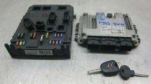 Citroen-Xsara-Picasso-1-4-HDI-Diesel-ECU-BSI-Kit-0281011802-9656841080