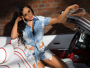 By-Alina-2-Teiler-Jeansbluse-Damenbluse-Jeans-Shorts-Hotpants-Spitze-Jeansjacke