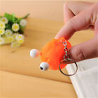 Fashion Animal Squeeze Toy Tumbled eye Decompression doll Keyring Key Chain Ring