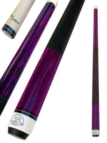 Cuetec Glove,Two Black layer tips Champion ST8 Purple Pool Cue Stick