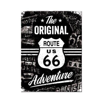 Stetig Magnet Souvenir Route 66 Adventure Motorrad Kühlschrank Fridge,8 Cm,neu Um Eine Reibungslose üBertragung Zu GewäHrleisten Automobilia