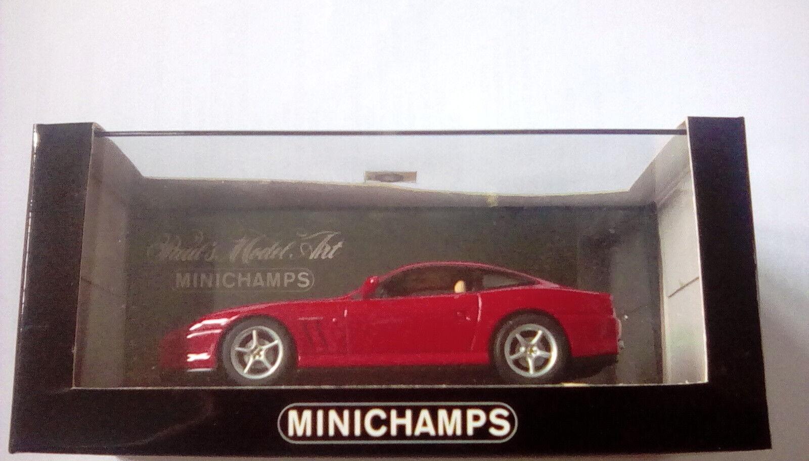 Extrem seltene minichamps ferrari 550 maranello rot corsa rot 1 43 minze im kasten