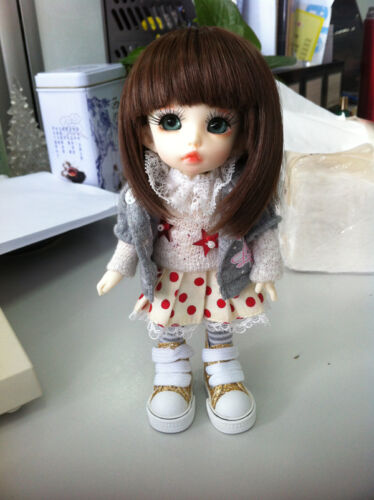 BJD SD Pukifee Ante Free Eyes Face Up Size 16cm High Quality toys Gift Size1//8