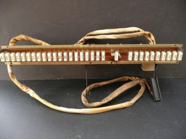part sale : WURLIZTER 3400 STATESMAN:  working BUTTON SELECTOR UNIT, CABLE, JACK