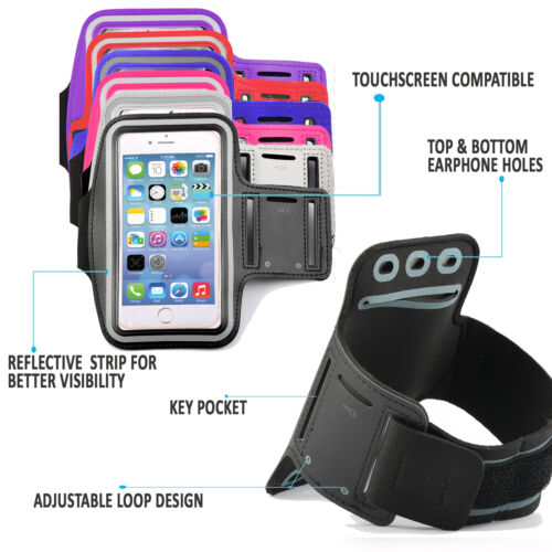 Running Sports Workout Armband Exercise Phone Case Cover For Samsung Galaxy S7