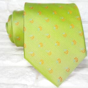 Cravatta-design-Made-in-Italy-100-seta-top-quality-floreale-Jacquard