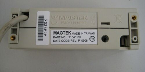 MagTek Dynamag Magnetic Credit Debit POS Card Reader USB 21040109 TESTED