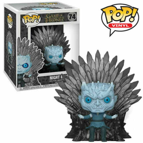 Game of Thrones Funko Pop Vinyl-nuit Roi Assis Sur Trône Nº 74