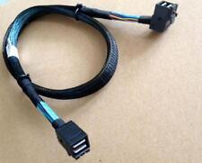 Amphenol 33 Inches Mini SAS SFF-8643 to SFF-8643 Mini SAS HD Data Cable,ORIGINAL
