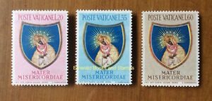 EBS-Vatican-City-Citta-del-Vaticano-1954-Our-Lady-Gate-of-Dawn-189-191-MNH-53