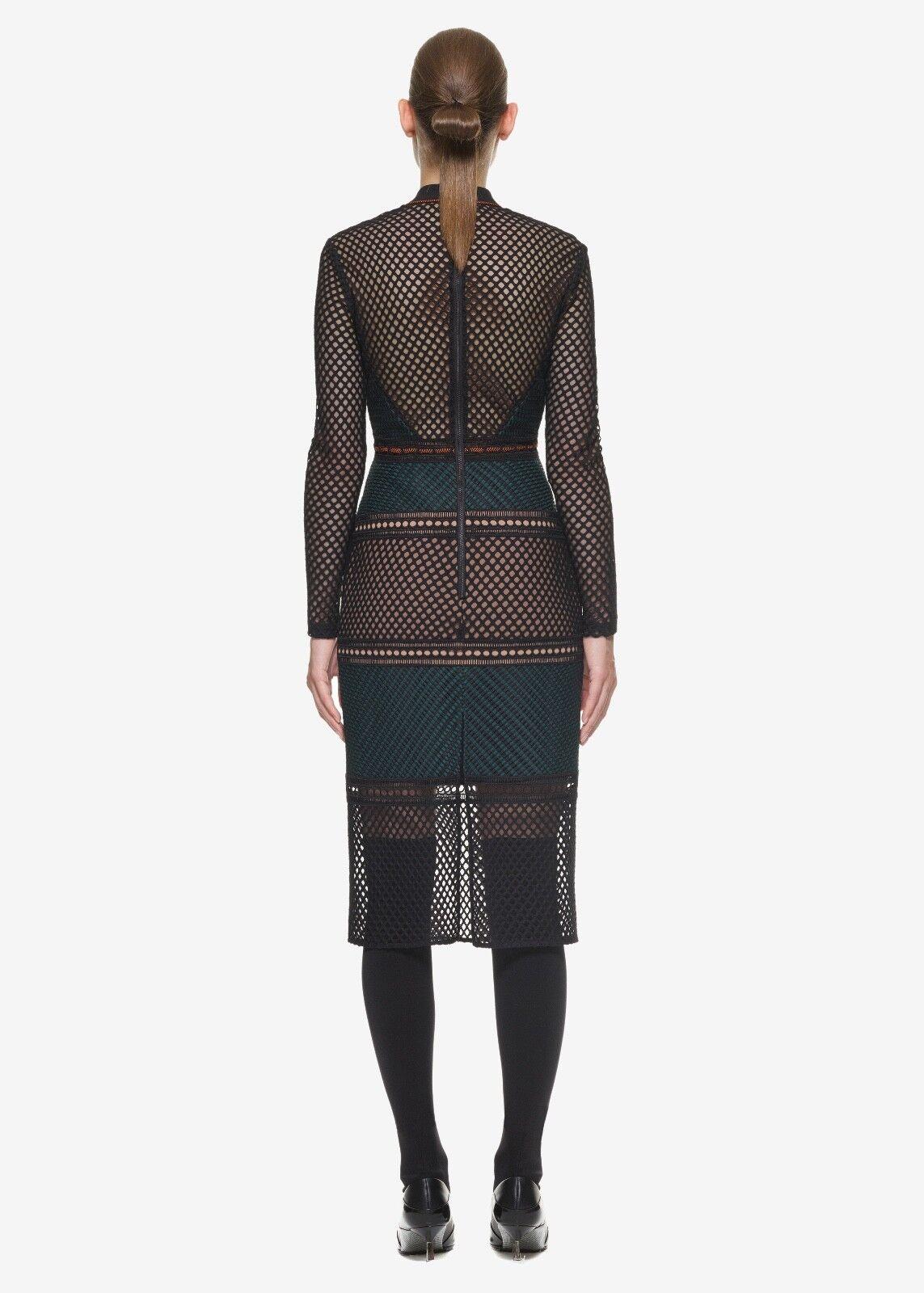 Self-Portrait Forest Fitted Fitted Fitted Midi Dress Größe UK 8   Sehr gute Qualität    Ästhetisches Aussehen    Langfristiger Ruf    Verrückter Preis  e3af03