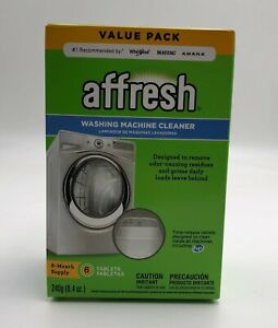 Affresh Washer Machine Cleaner, 6-Tablets, 8.4 oz, Home ...
