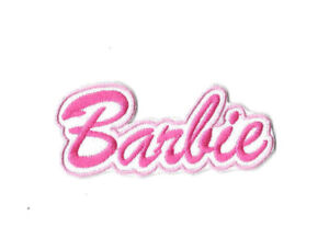 BARBIE-LOGO-Iron-on-Sew-on-Patch-Embroidered-Badge-Motif-Cartoon-TV-PT223
