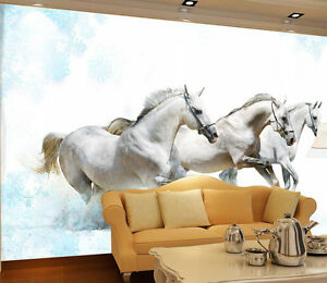 3d Horse Pictures 3744 Paper Wall Print Decal Wall Wall Mural Aj