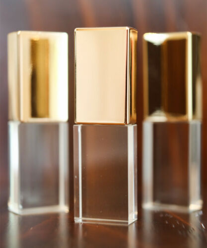 Custom Glass Crystal USB Flash Drive Personalized Gift Studio LOGO Pendrive 32GB