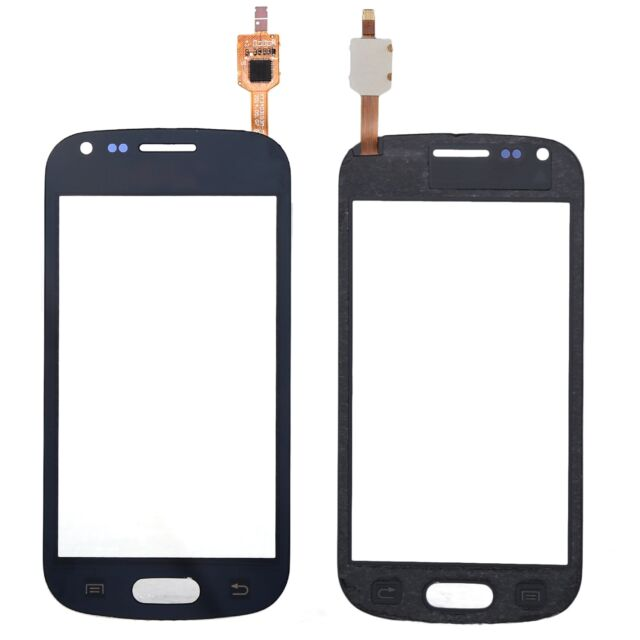 Front Touch Screen Glass Panel Digitizer Fr Samsung Galaxy S Duos GT-S7562 Black
