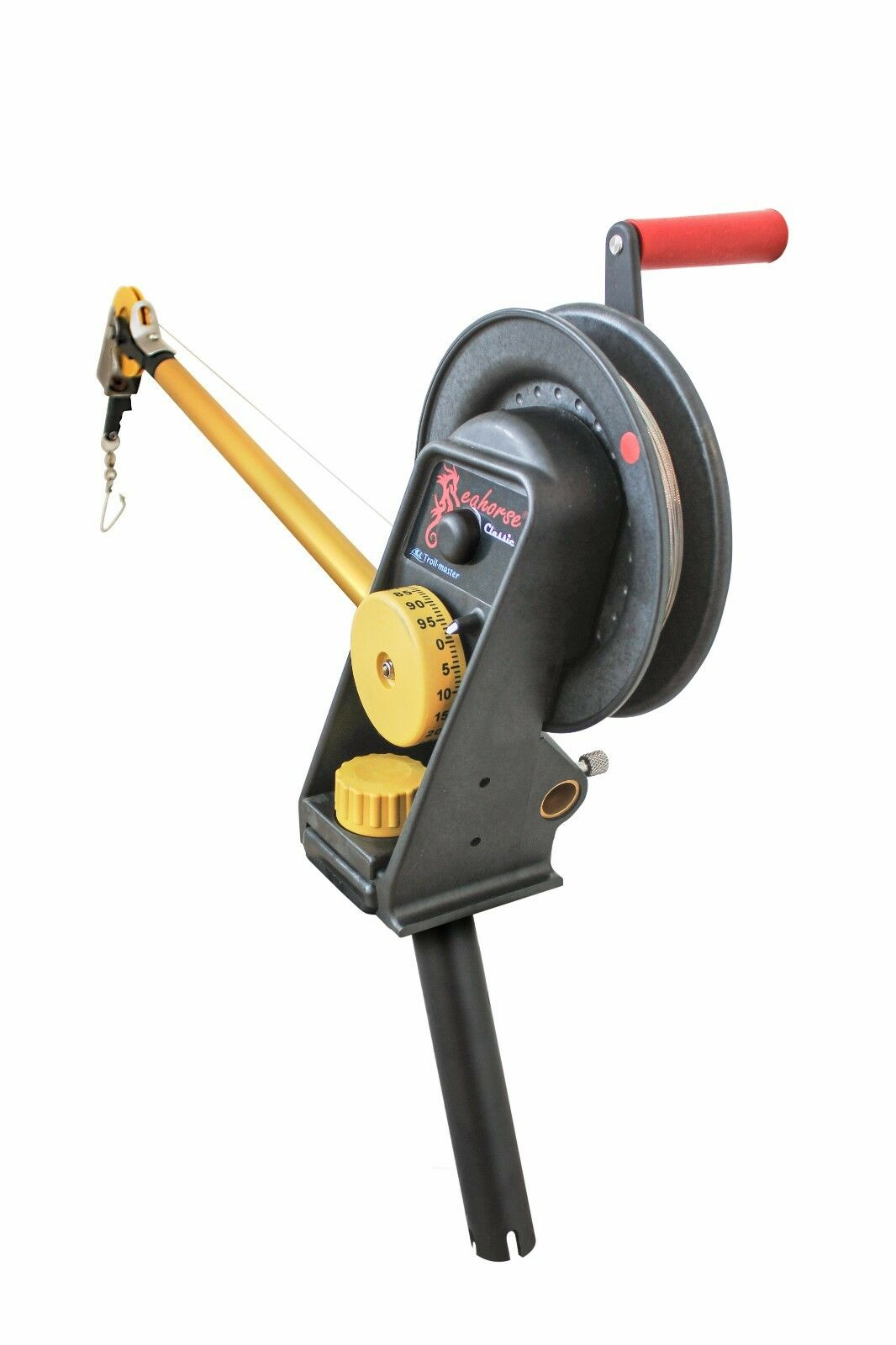 Seahorse Manual Downrigger System with Gimbal Mount by Troll-master