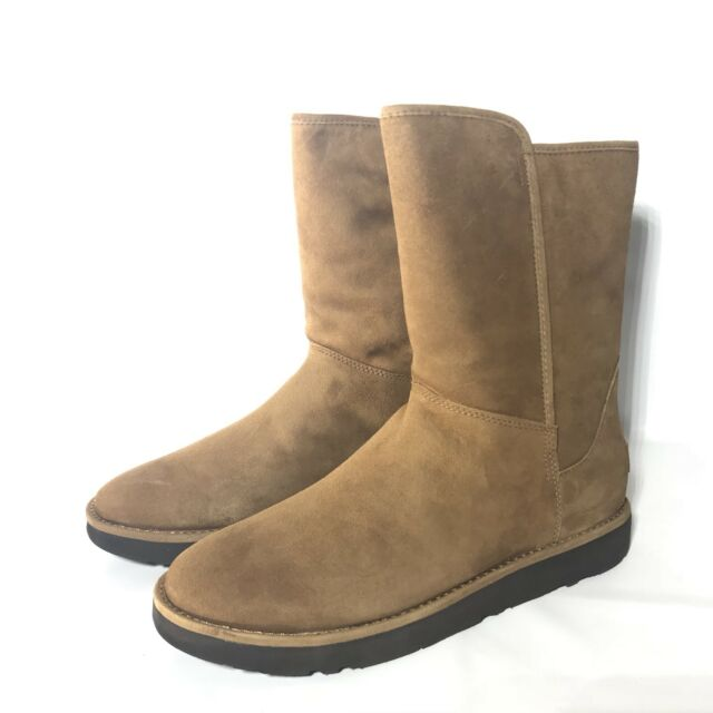 f10ed799f76 Women's Shoes UGG Abree Short II Zip Shearling Lined BOOTS 1016589 Bruno 7