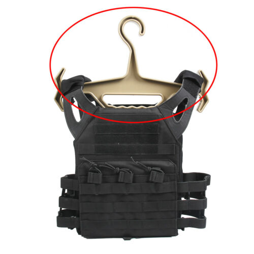 Heavy Duty Tactical Hanger Military Police Armour Vest Plate Carrier Storage NEW