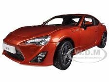 2013 TOYOTA GT 86 LEFT HAND DRIVE ORANGE METALLIC 1/18 BY CENTURY DRAGON 1002 C