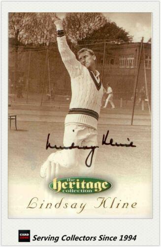1996 Futera Cricket Heritage Collection Signature Card NO35 Lindsay Kline