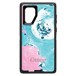 Choose Model Custom OtterBox Defender for Galaxy S  Galaxy Note Blue Pink Swirl Geometric