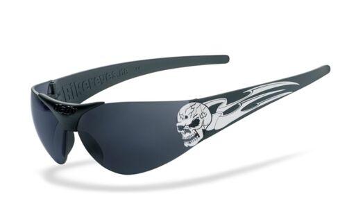 Sonnenbrille Helly Moab 4 Tribal Skull smoke Motorradbrille Motorrad