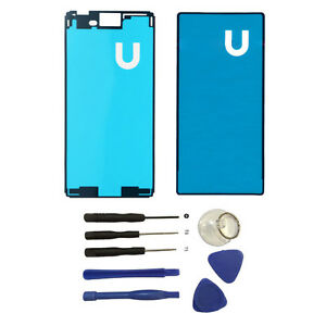 For-Sony-Xperia-M4-Aqua-E2303-Front-And-Back-Adhesive-Sticker-Glue-Tape-w-Tools